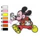 Mickey Mouse Cartoon Embroidery 58